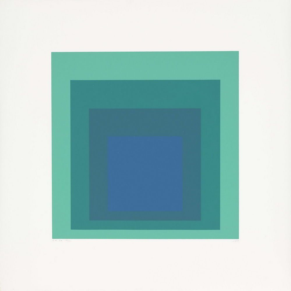 Josef Albers Untitled Giclee Canvas Print Paintings Poster Reproduction Copy