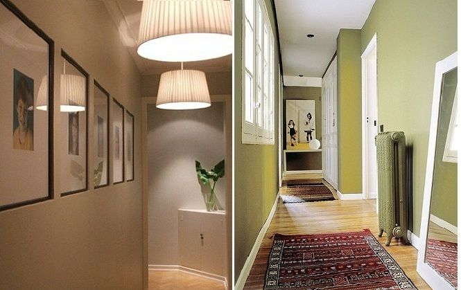 Ideas para decorar un pasillo estrecho Home Pinterest Spaces - decoracion pasillos