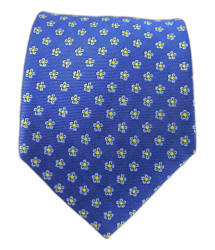 Anemones - Cornflower Blue | Ties, Bow Ties, and Pocket Squares | The Tie Bar
