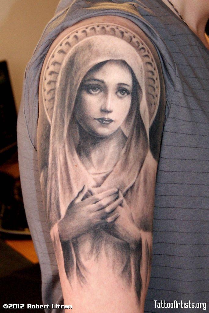 La Vierge Marie Tattoo