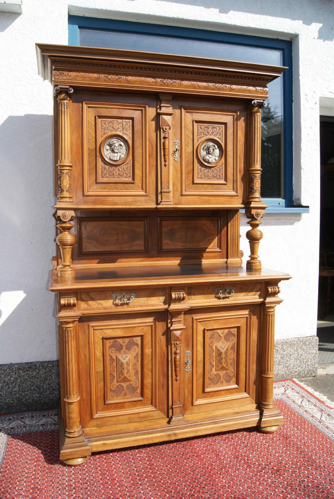 Bedeutendes Grunderzeit Buffet Schrank In Nussbaum Bronze Berlin Ebay Buffet Ebay The Originals