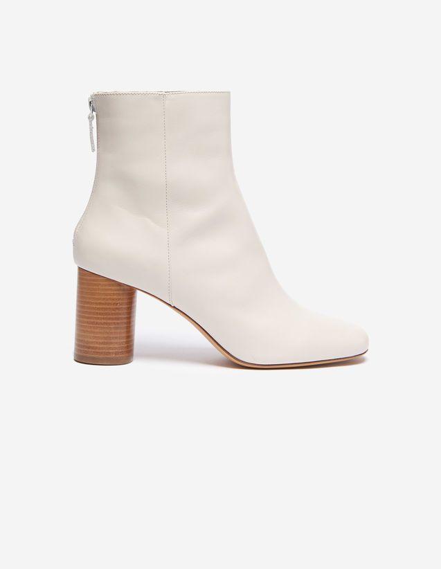 chaussures élégantes dernière mode commercialisable Sacha, Off White,   sandro-paris.com   Shoes in 2019   Boots ...