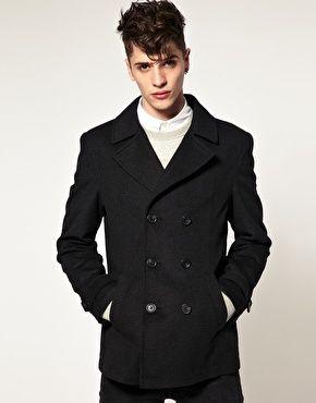 How I want my coa to fitAsos Wool Pea Coat 흠 내사 좋아하는