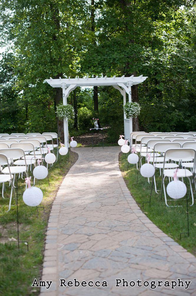 Columbus Ohio Wedding Venues Brookshire Outdoor Ceremony