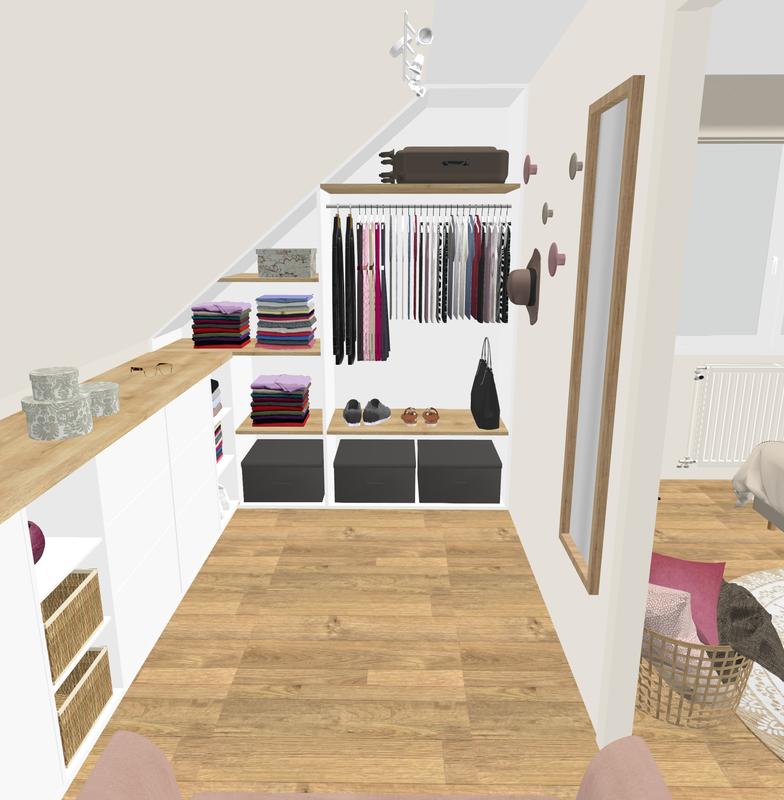 Projet client: une chambre apaisante d'inspiration scandinave - Sonia Saelens déco