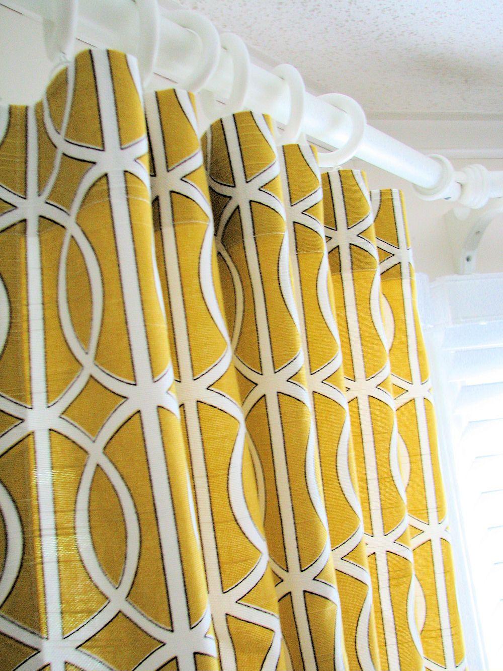 Designer Curtains - Pair of Decorative Designer Custom Curtains ...
