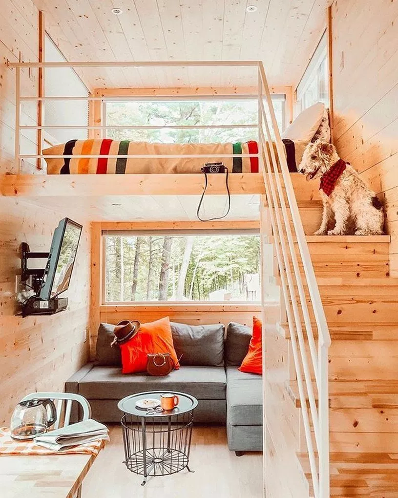 81 Amazing Tiny House Design Ideas Accommodate Lots Of Stuff #tinyhouses