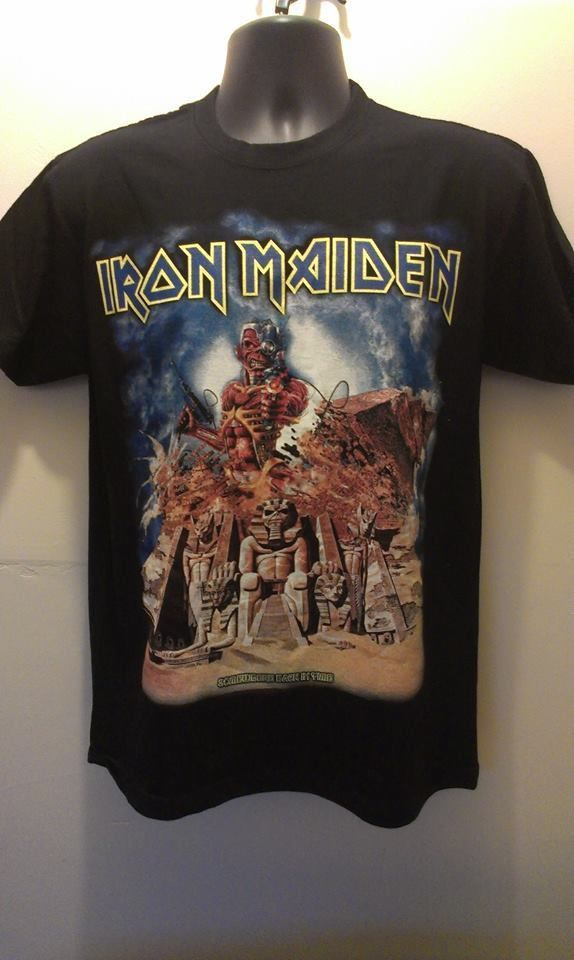 Iron maiden t shirt brand new size M L