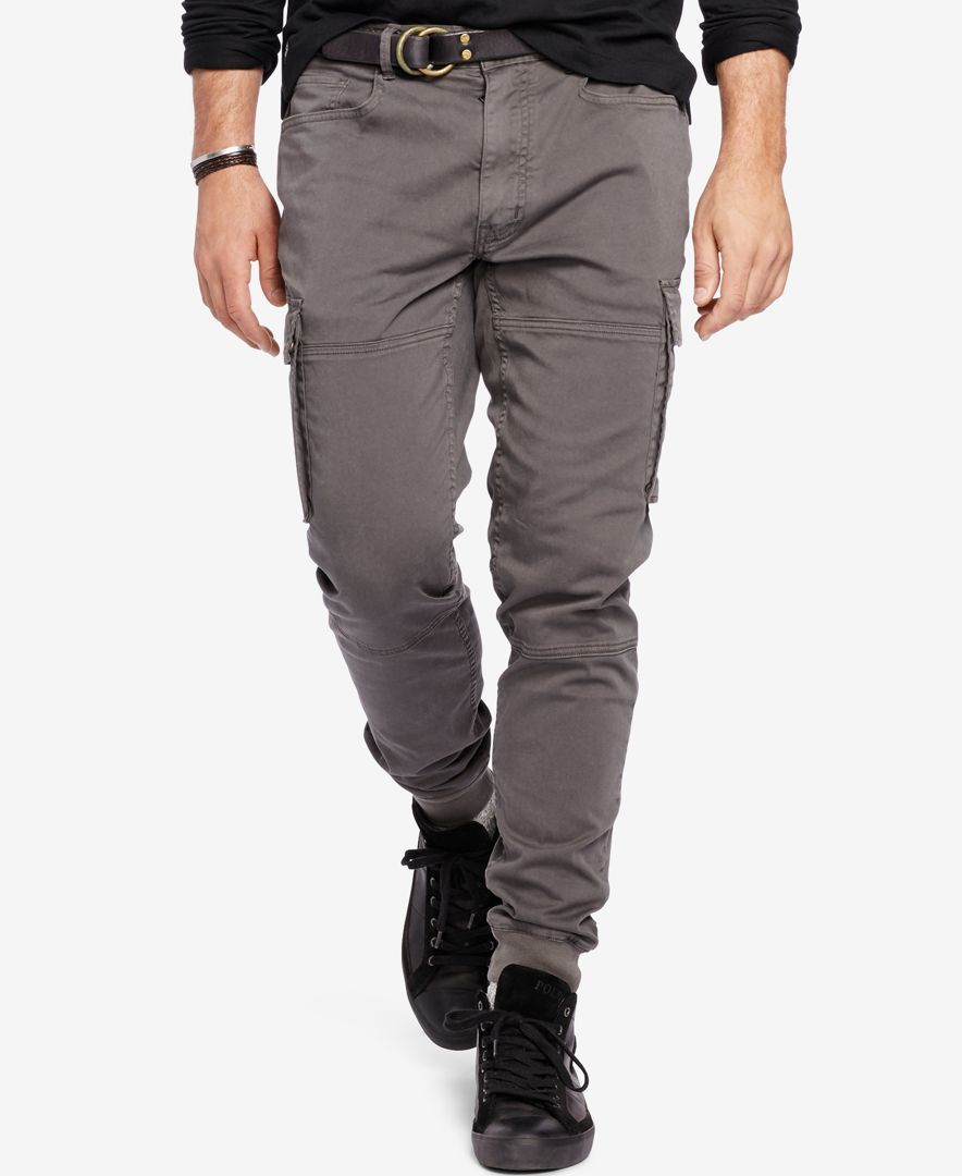 lovely design for whole family picked up Polo Ralph Lauren Men's Big & Tall Cargo Jogger Pants ...