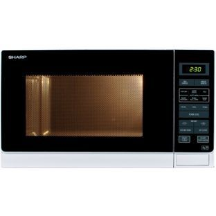 Buy Sharp R372wm 25l Solo Microwave White At Argos Co Uk