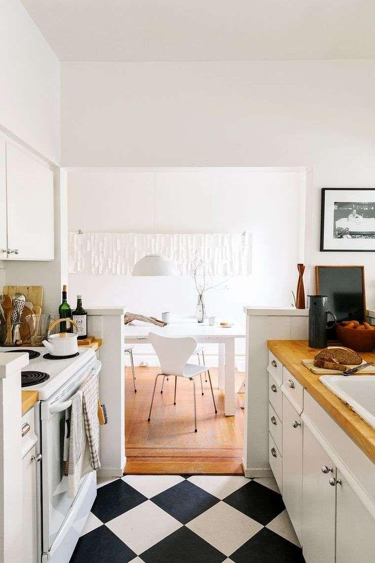 Informazione: Arredare Una Cucina Lunga E Stretta