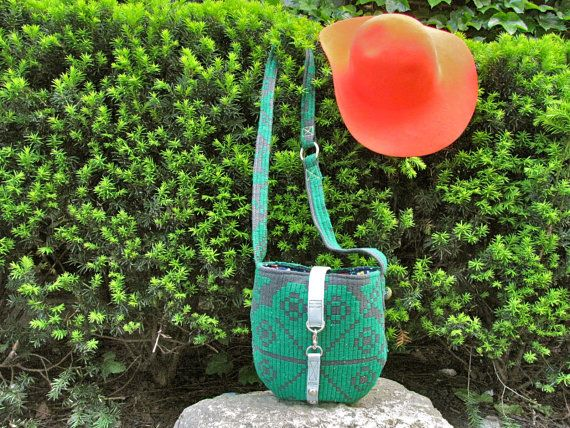 Jade and Blossom Satchel 2/2 by BirdTrouble on Etsy
