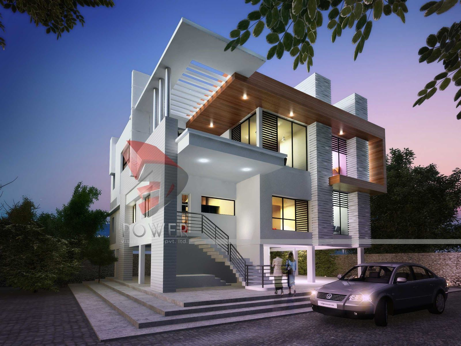 modern house plans dubai home