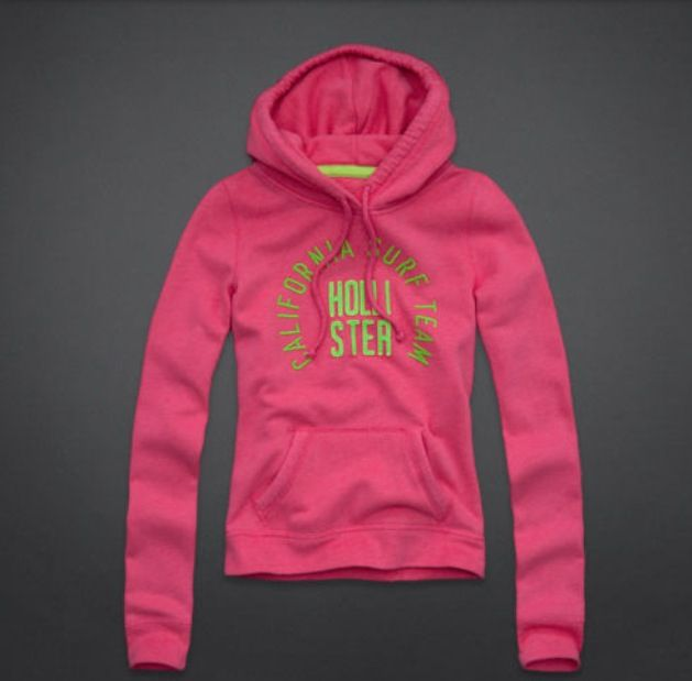 Pink And Green Hollister Sweater.