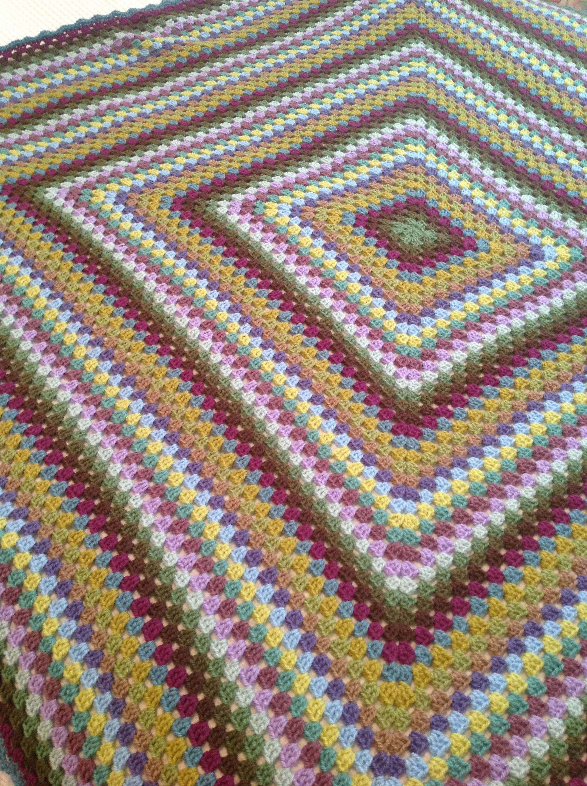 My Version Of Attic 24 Moorland Blanket Colours Are Lovely With Images Blanket Crochet