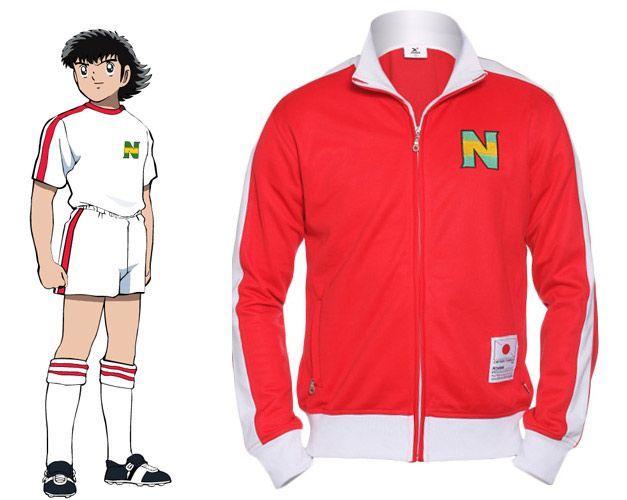 Chaqueta del Nankatsu - Blanco (Okawa) Campeones  Oliver y Benji    Supercampeones   Captain Tsubasa  d7aff77123955