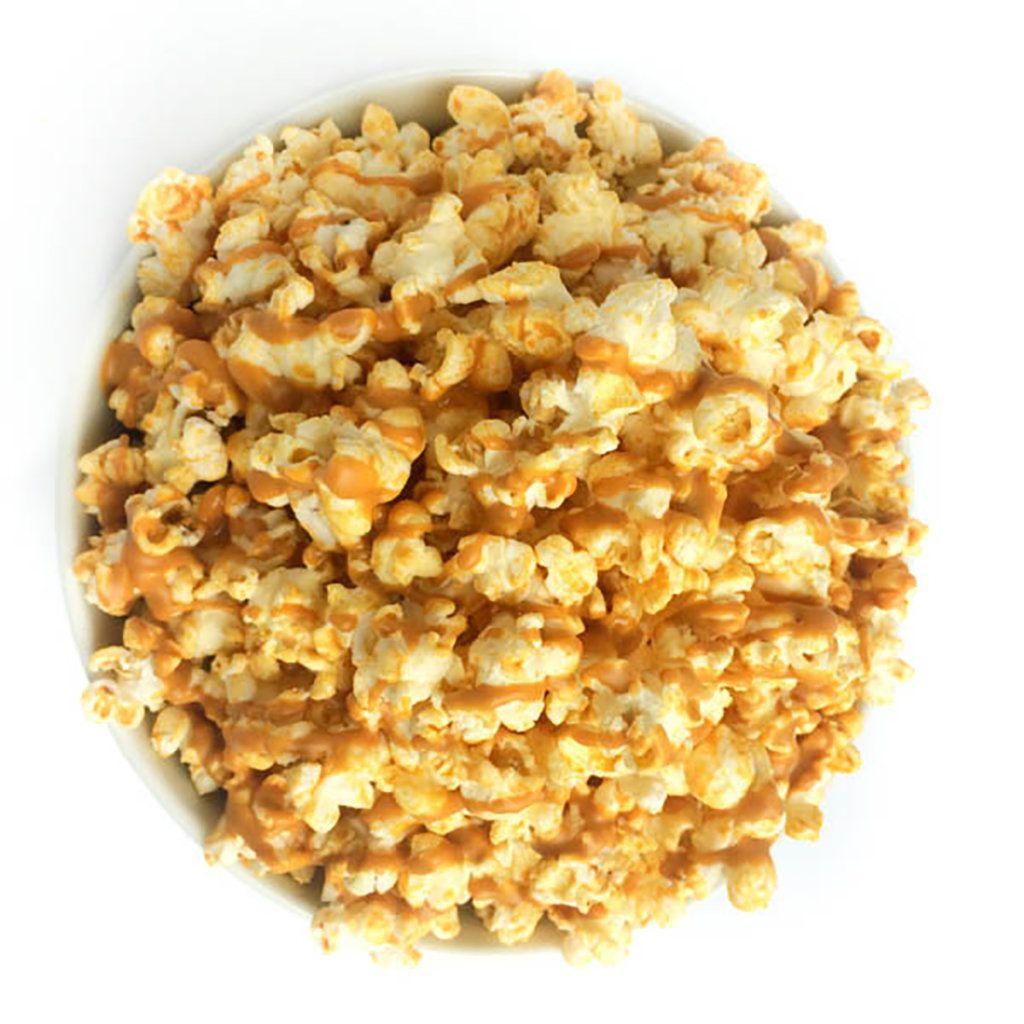 Peanut Butter Popcorn Recipe - The Lemon Bowl