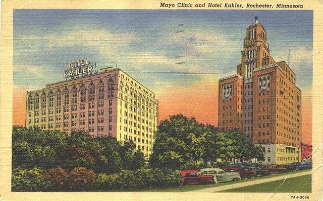 Minnesota - Rochester, Mayo Clinic & Hotel Kahler