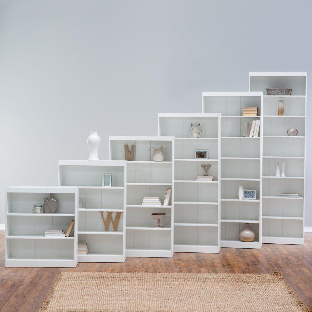 Remmington heavy duty bookcase white the finley home remmington