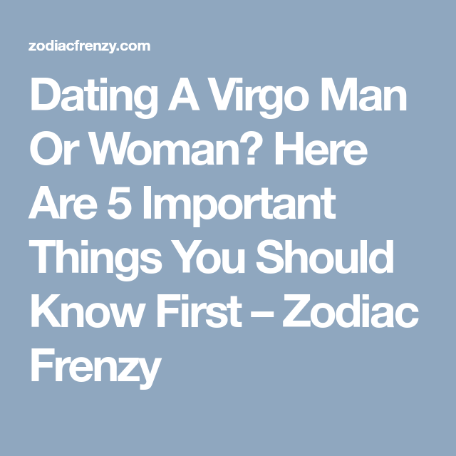 I want to get close to the virgo read here.
