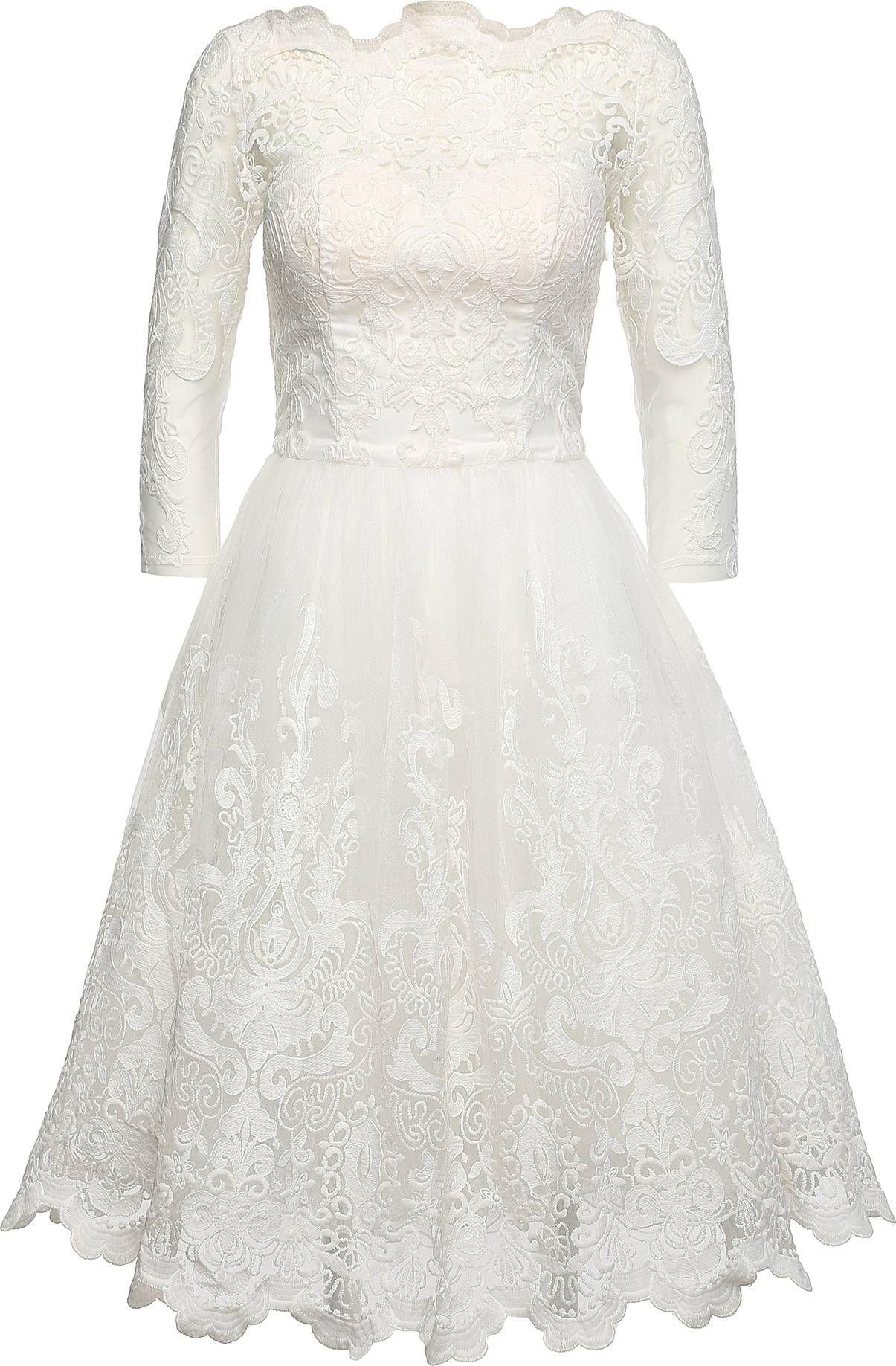 Spitzenkleid 'FLORA DRESS' von Chi Chi London. Schnelle ...
