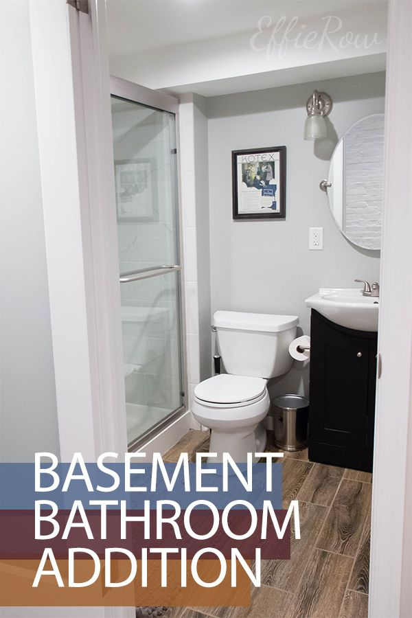 Below Grade Beauty - Basement Bathroom Addition