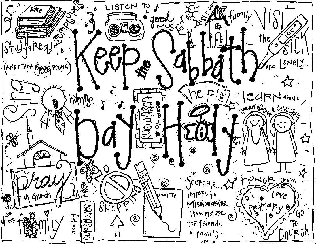 Coloring pages for missionaries - Stuffing