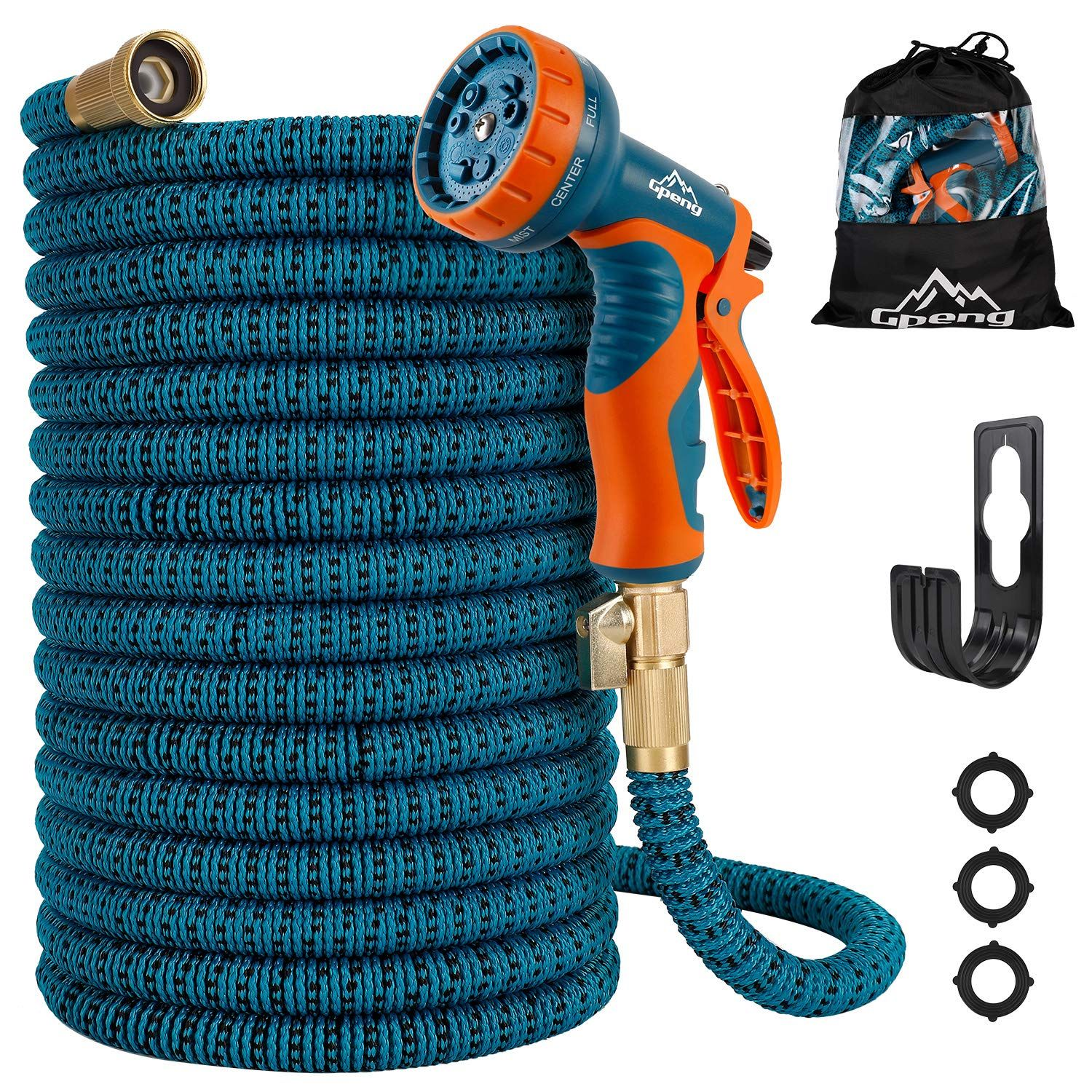 Gpeng Garden Hose 2019 New Upgraded 50 100 Ft Expandable Garden Hose Expanding Water Hose Lightweight Garden Water Garden Hose Simple Storage Water Hose