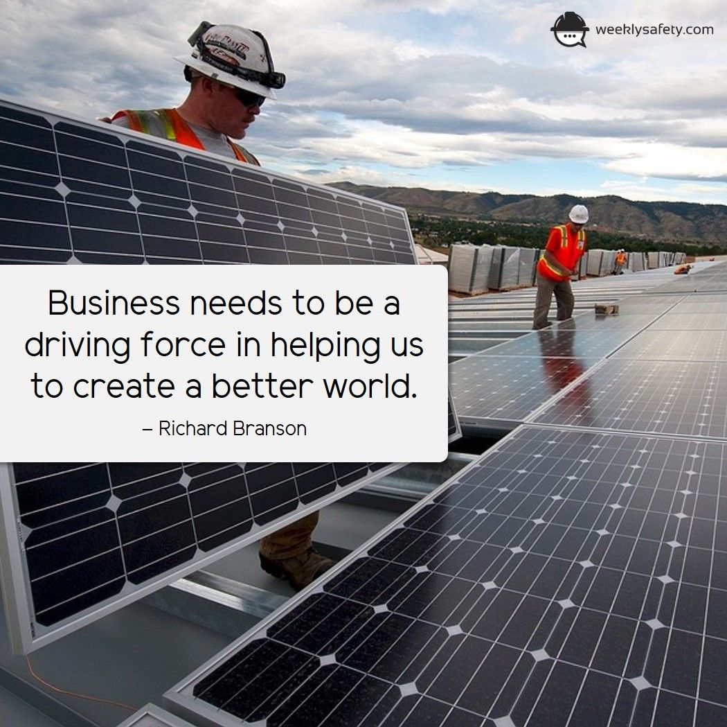 Business needs to be a driving force in helping us to