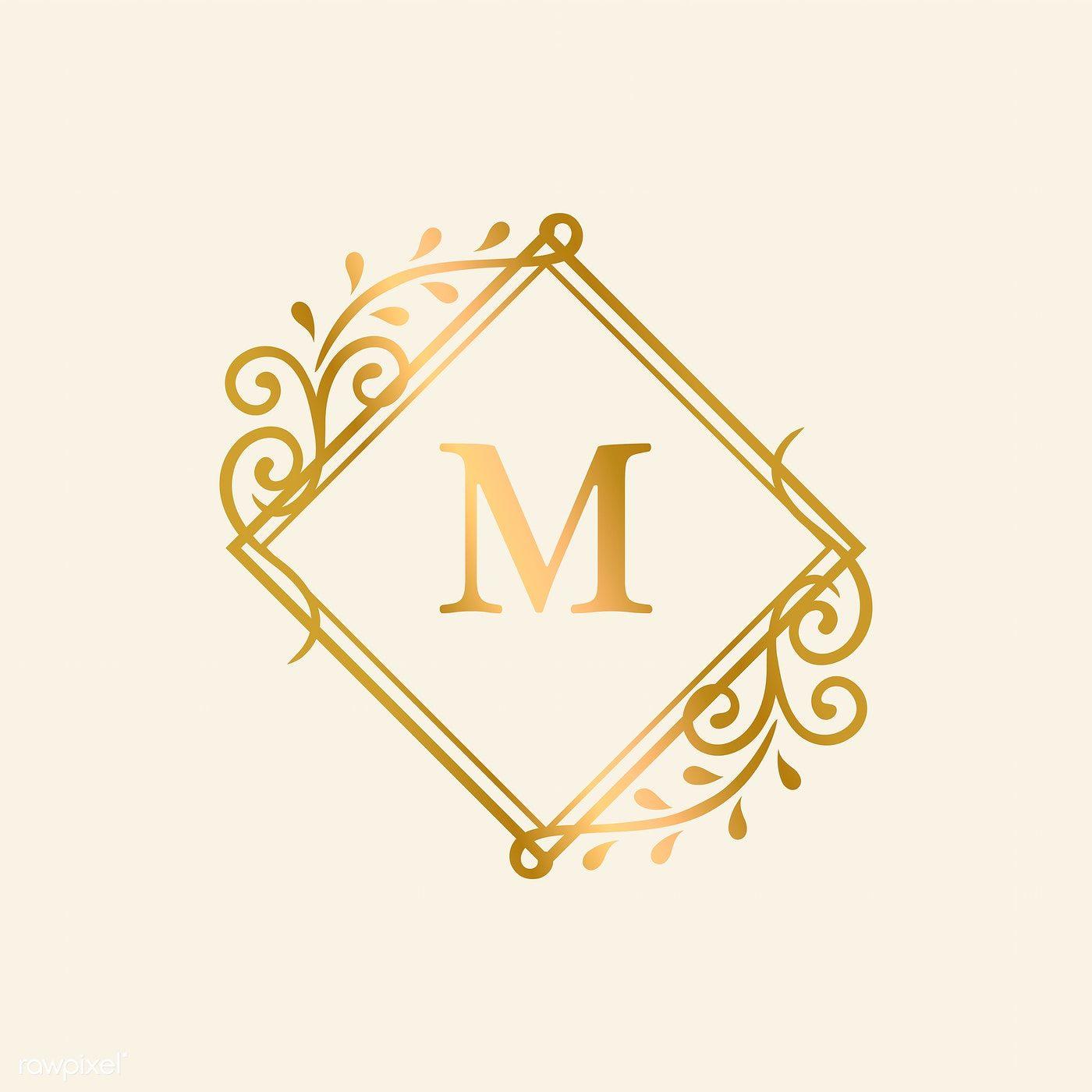 Floral Monogram Wedding Wreath Instant Digital Download Single Letter C Family Crest DIY Wedding Logo