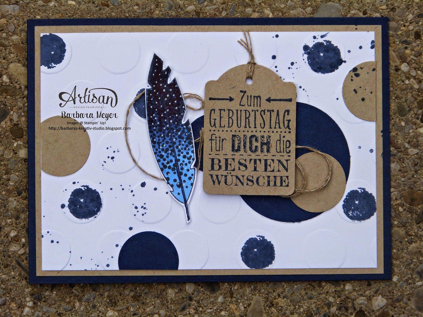 Geburtstagskarte f r m nner barbaras kreativ studio for Pinterest geburtstagskarte