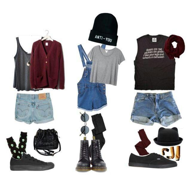 Grunge Outfits, Summer Grunge