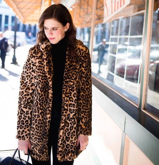 0de958b643 Faux leopard coat #ShopStyle #ssCollective #MyShopStyle #ootd ...