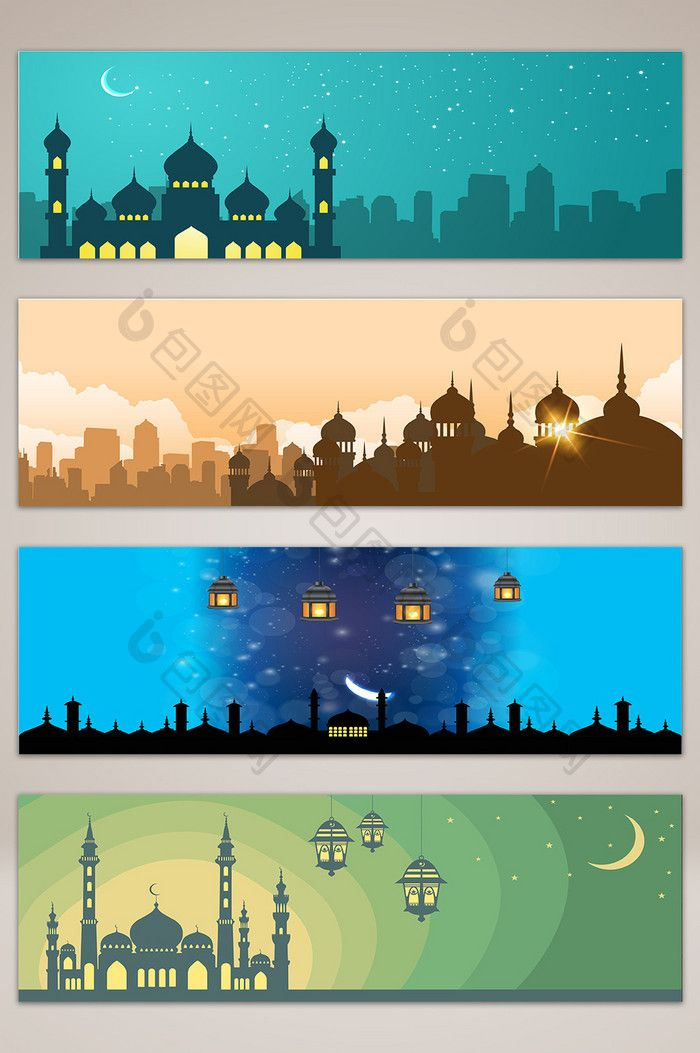 Banner Ramadhan 2019 : banner, ramadhan, Islamic, Style, Building, Night, Scene, Banner, #islamic, #ramadan, #graphic, #design, #pikbest, #background, Desain, Vektor,, Banner,, Grafis