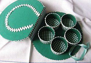 Cantinho craft da Nana: reaproveitando rolos de papel