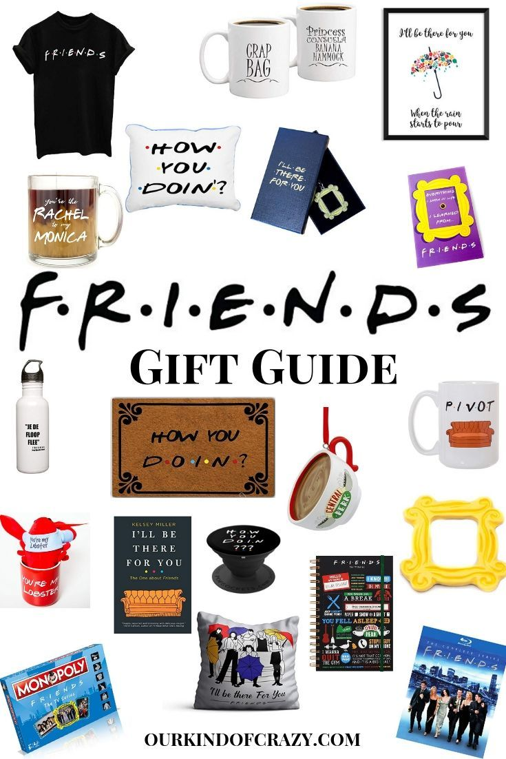 Friends tv show gifts could they be more perfect