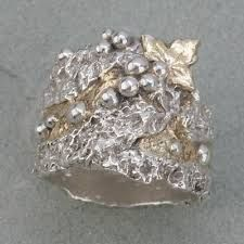 metal clay rings - Google Search