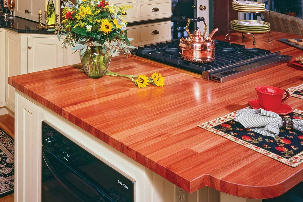 EcoLyptus™ Countertop | Michigan Maple Block