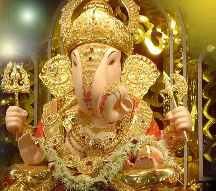 Shri Ganesh Hd Wallpaper: Lord Ganesha With The Same Enthusiasm. Ganesha's Elephant
