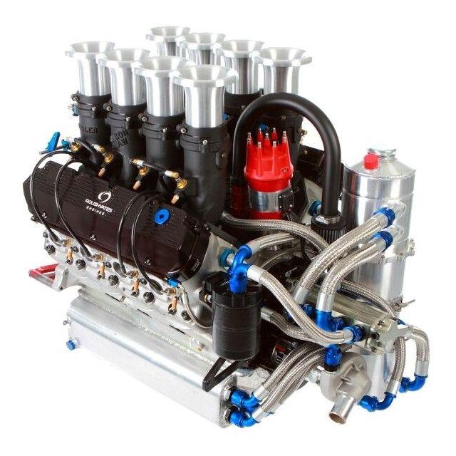 Roush Yates 410 Race Motor Car Engine Engineering Sprint Cars