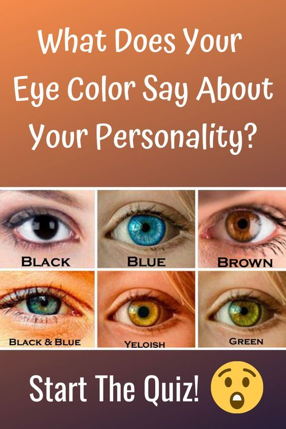 What Does Your Eye Color Say About Your Personalit