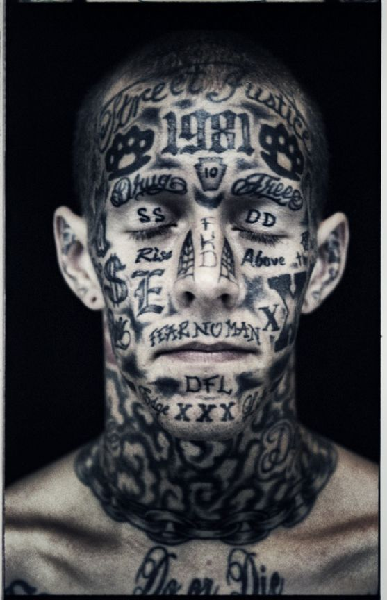 Facial Expression Straight Edge Tattoo Tattoos Kevin Gates Tattoos