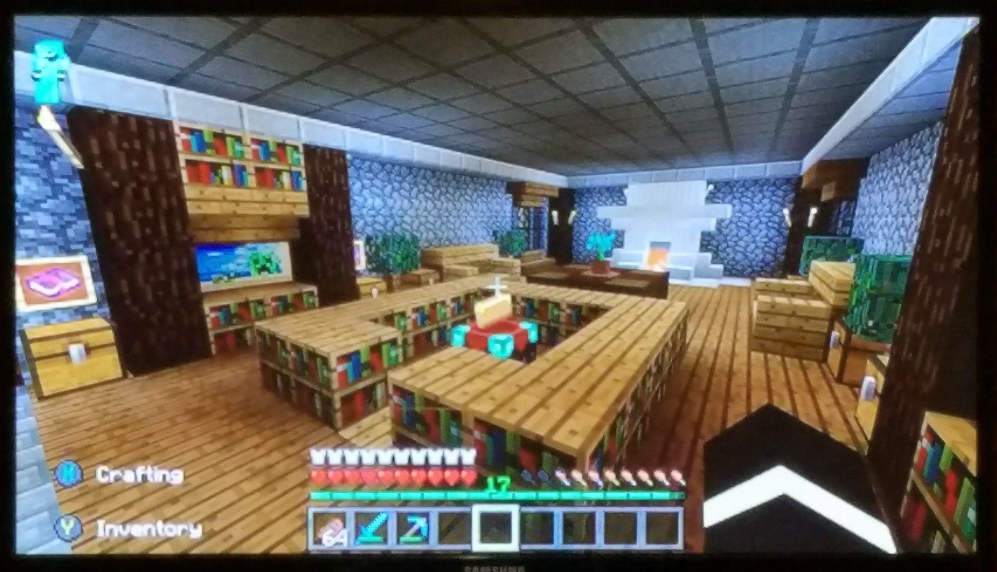 My Minecraft Living Room