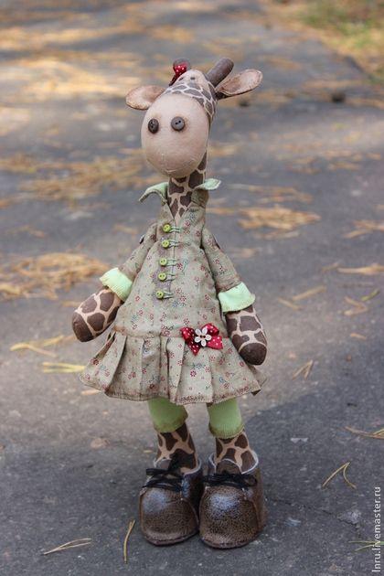 Жирафа Жози. Handmade. | Kreativ idee - Handarbeit - Tilda - Puppen ...