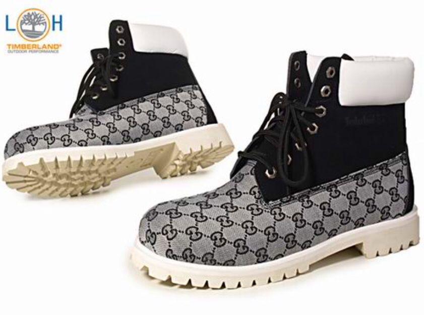 desarrollando Mensurable bolita  Gucci Timberlands | Timberland boots black, Timberland boots mens, Boots