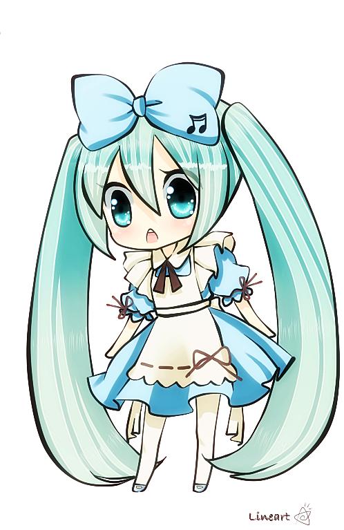 Hatsune Miku Fans May Be Happy To Hear That A New Hatsune Miku Manga Will Began Serialization In The May Issue Of Kadoka With Images Miku Hatsune Chibi Anime Chibi Hatsune