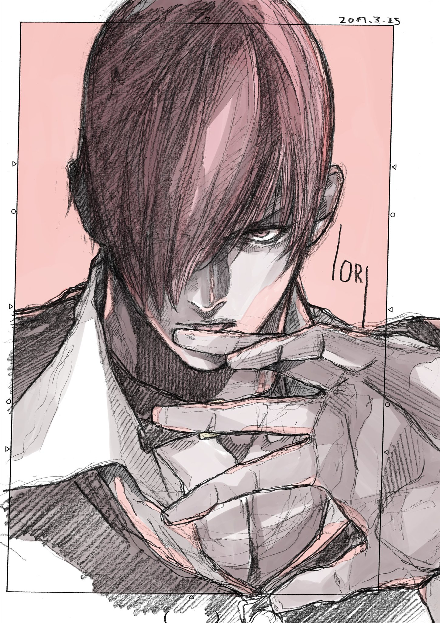 Iori Yagami 八神 庵 Kof Snk King Of Fighters Snk