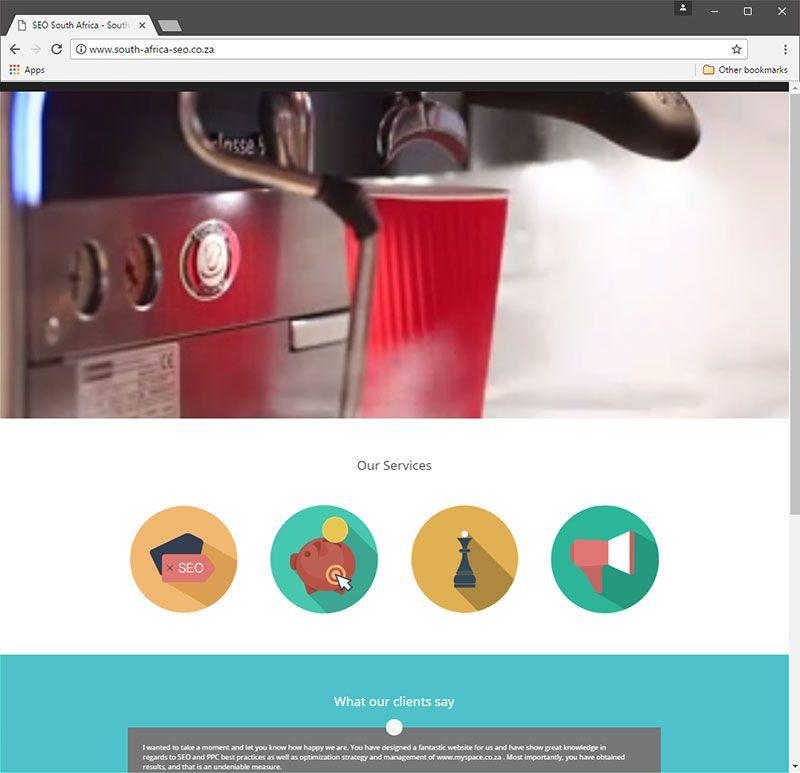 South Africa SEO Graphic design company, Seo, Website design