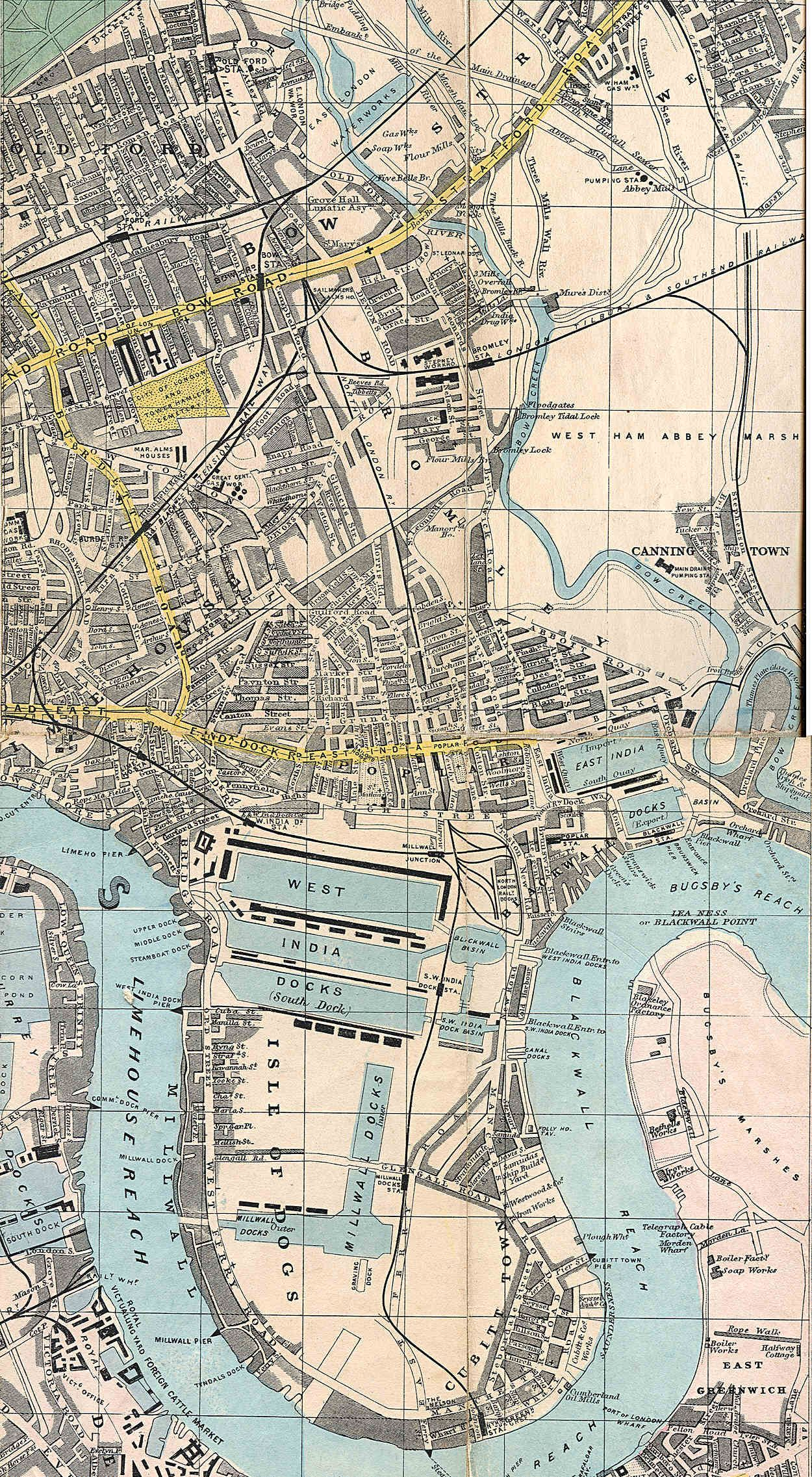 London And Suburbs Map.1882 Reynolds New Map Of London And Suburbs Map London