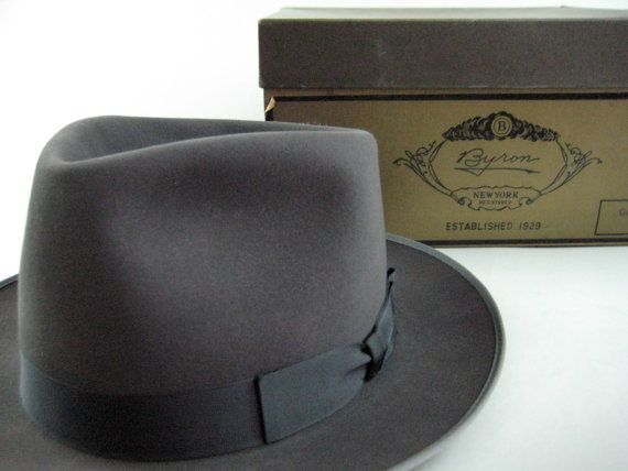 fedora  a hat is typically creased lengthwise down the crown and